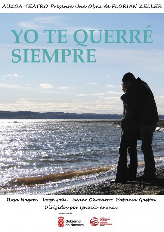 """Sábado 26, representación teatral """"Yo te querré siempre"""", en Civivox San Jorge"""