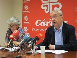 """Cáritas quiere """"independencia"""" y exige al Gobierno foral que retire el Sello Comprometido"""