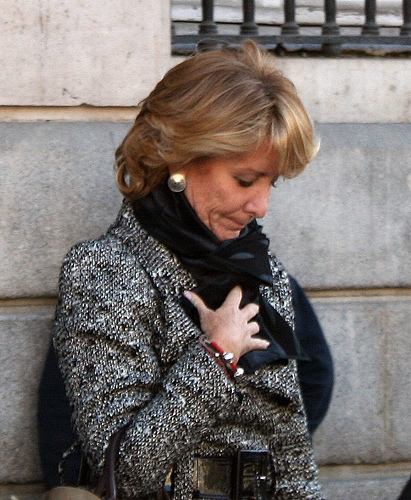 De momento, Aguirre no declarará como testigo en Gürtel