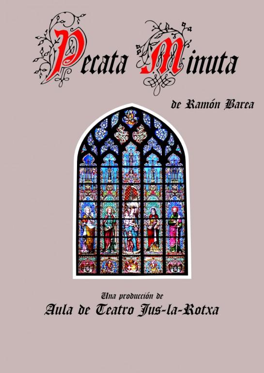Este viernes, representación teatral 'Pecata minuta' en Civivox Mendillorri