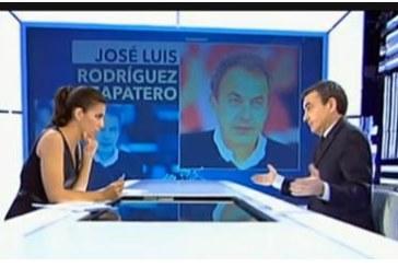 """Zapatero dice que Cataluña """"no tiene competencias"""" para el secesionismo"""