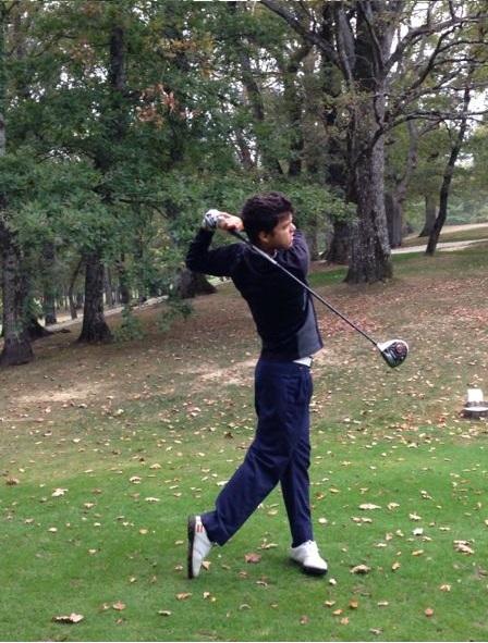 """ENTREVISTA: """"Doy fe de que el golf es un deporte"""", Borja Virto, jugador de golf profesional"""