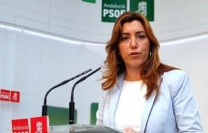 Díaz asegura que los grandes bancos y empresas confían más en Andalucía que Rajoy