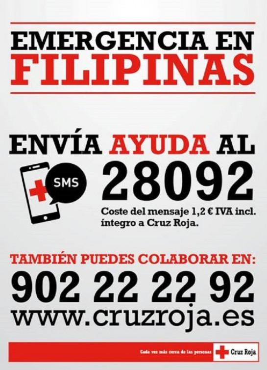 Cruz Roja envía cinco plantas potabilizadoras y siete delegados de emergencias a Filipinas