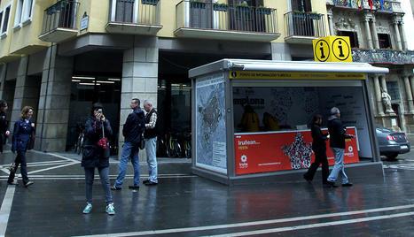 La nueva oficina estable de turismo de pamplona abre hoy for Oficina turismo pamplona