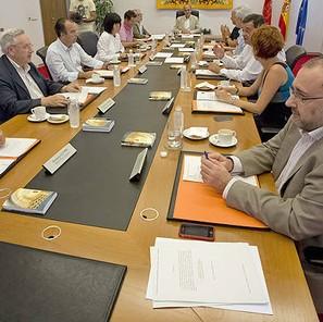 El Parlamento Foral tramita la comisión de investigación sobre CAN y los sobresueldos y pagos del PP