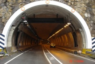 Cortes de tráfico nocturno en los túneles de Belate y Almandoz, sentido Irun, hasta el jueves