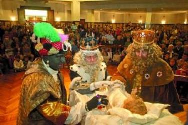 Los Reyes Magos de Oriente llegan a Pamplona