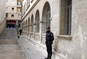 La Infanta Cristina tendrá el sábado un blindaje policial mucho más férreo que el de Iñaki Urdangarín