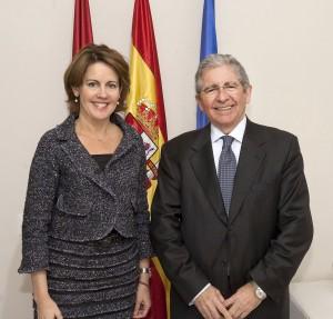 EL Presidente de CLH se reúne con la Presidenta del Gobierno de Navarra