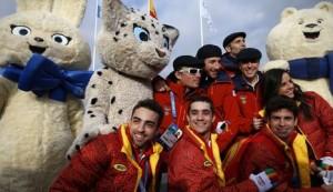 La delegación española en Sochi