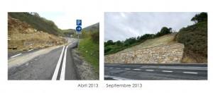 18 millones invertidos para reparar 207 carreteras navarras dañadas en 2013 por precipitaciones