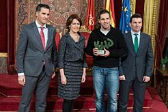 Barcina entrega los premios deportivos de 2013