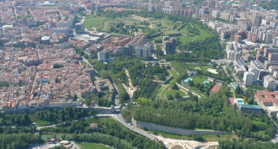 Pamplona líder nacional en zonas verdes: 3.000.000 de metros cuadrados