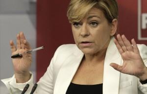 """Elena Valenciano desmiente que el PSN-PSOE vaya de la mano con Bildu """"ni a la vuelta de la esquina"""""""