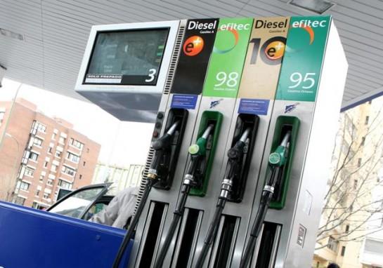 Vuelve a subir la gasolina a máximos históricos