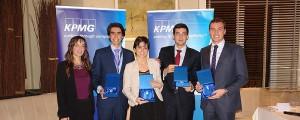 Cuatro alumnos de Económicas de la UNAV representarán a España en la final mundial de talento universitario KPMG