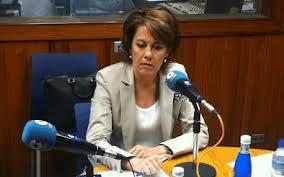 Yolanda Barcina dice que a Pérez Rubalcaba le están informando mal