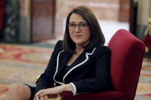 Soraya Rodríguez. Foto: CARLOS BARAJAS (El Mundo))
