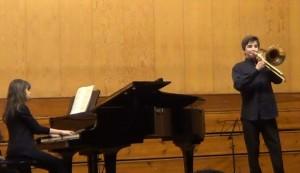El navarro Alberto Belzunegui, segundo premio en el IX Concurso de Jóvenes Intérpretes de Leioa