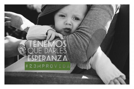 Mañana 23M manifestación por la VIDA en Pamplona