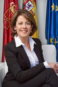 """Yolanda Barcina responde al presidente madrileño que Navarra es """"solidaria y leal"""" con España"""