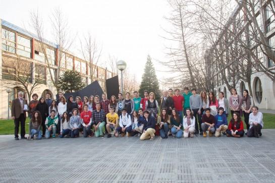 Más de 60 estudiantes de Bachillerato participan en la Olimpiada de Química de la UPNA