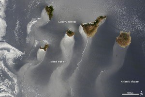 La foto de Canarias desde el espacio sigue adelante en el concurso de 'Foto del año' de la NASA