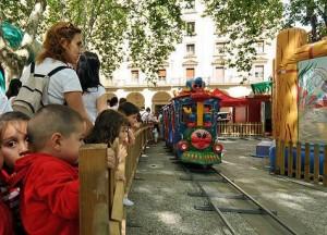 El Ayuntamiento licita el contrato de 'Menudas fiestas' en el parque Conde Rodezno