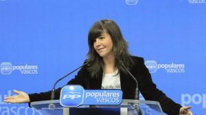 Arantza Quiroga elige a Nerea Llanos como secretaria general del PP vasco