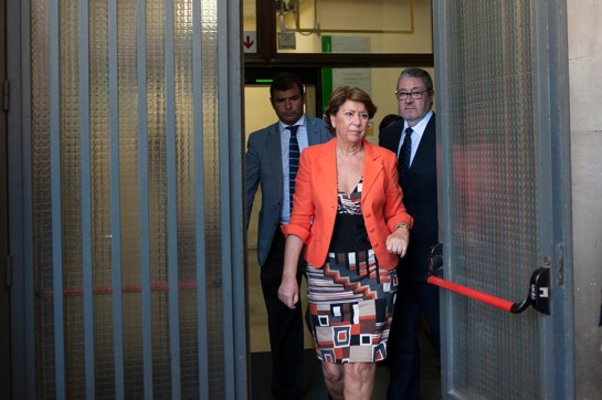 La juez Alaya embarga a Magdalena Álvarez