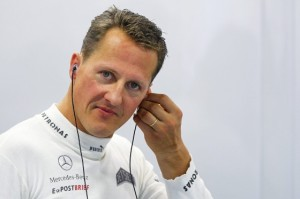 Schumacher está consciente por momentos
