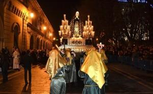 Traslado de la Dolorosa. Foto: D. Navarra