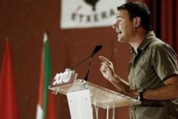 Asier Arraiz, líder de Sortu, es el relevo de Arnaldo Otegui al frente del radicalismo extremo abertzale