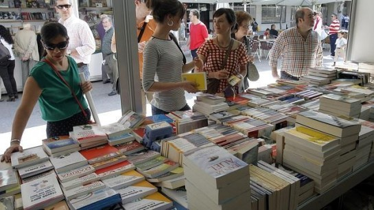Durante 15 días permanecerá abierta la Feria del Libro Antiguo y de Ocasión en la Plaza del Castillo