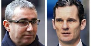 Diego Torres e Iñaki Urdangarín, los dos principales acusados en el 'caso Nóos'. FOTO: EFE