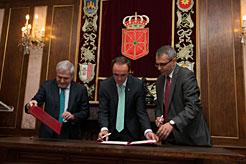 Las obras de la primera fase de ampliación del Canal de Navarra no comenzarán hasta finales de año