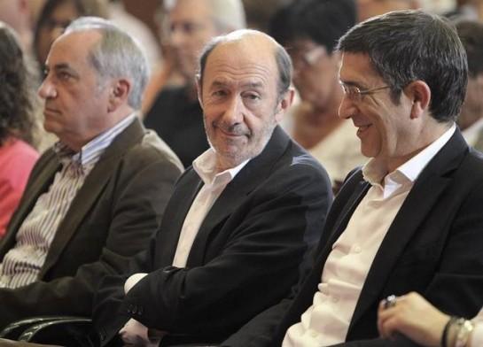 Rubalcaba valora la posibilidad de que los militantes eligan a su sucesor