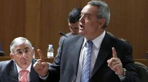 Alfredo Boné, vicepresidente del PAR y portavoz en las Cortes de Aragón. ABC