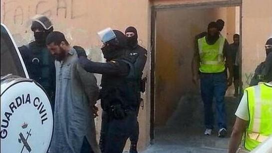Seis detenidos en Melilla por captar y enviar terroristas yihadistas a Siria, Libia y Mali