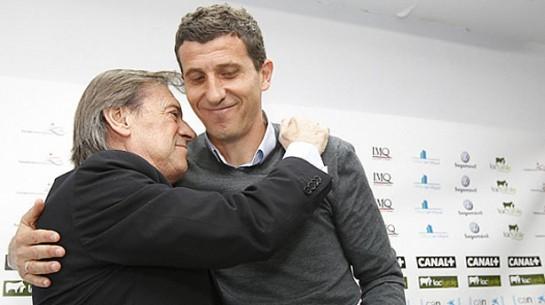 Javi Gracia deja de ser el entrenador de Osasuna