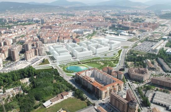 El parque de Arrosadía continuará al otro lado de la Avenida de Zaragoza con 20.000 metros cuadrados