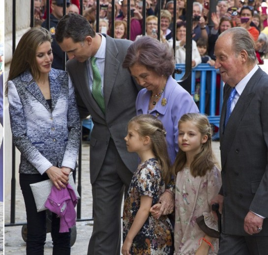 Las Infantas Elena y Cristina dejan de ser miembros de la nueva Familia Real