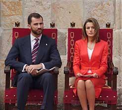 Los todavía Príncipes de Asturias y Viana mantienen su visita a Navarra