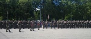 Jura bandera Regimiento América 66