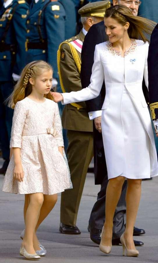La Reina Letizia y la Princesa de Asturias también serán «aforadas» en un mes