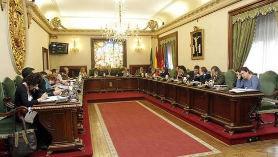La oposición  critica la gestión municipal de UPN en Pamplona