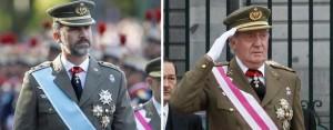 El Rey  pasará a ser capitán general en la reserva tras su abdicación y podrá portar el uniforme