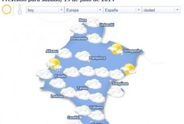 El calor y el bochorno hacen que la sensación térmica supere los 40º en gran parte de Navarra