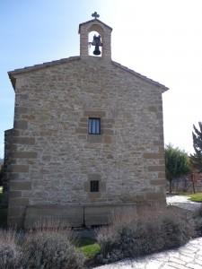 Ermita de la Virgen Blanca de Garínoain.